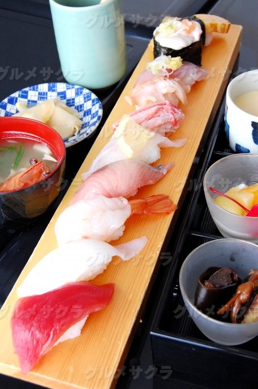 冬の寿司御膳ランチ