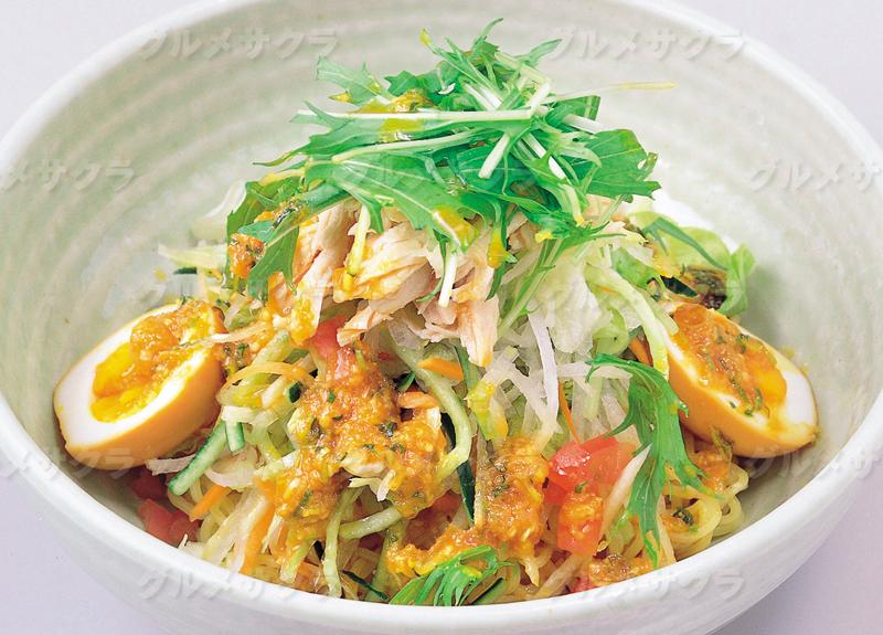 野菜たっぷり特製冷麺