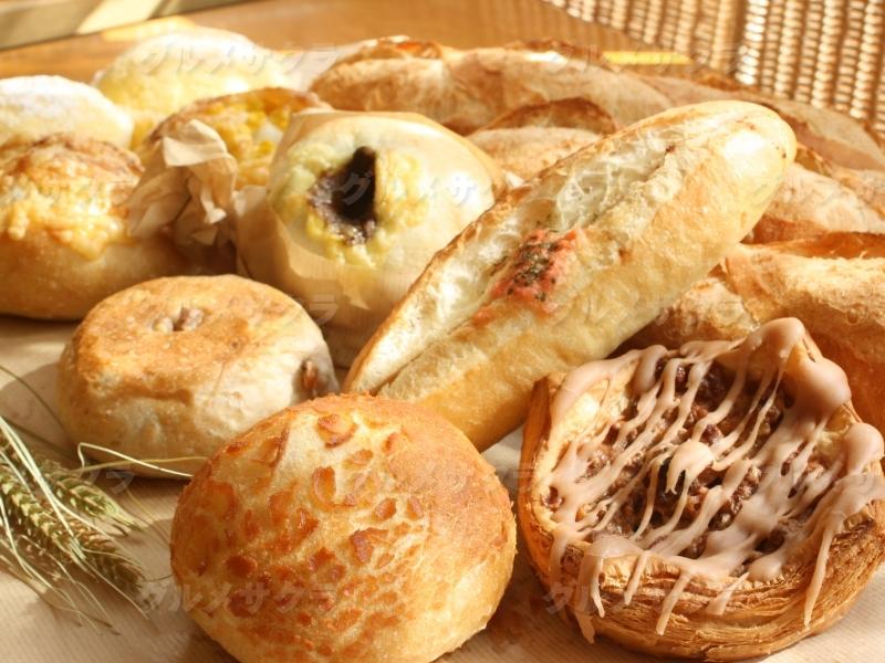 菓子パンから惣菜パンまであなたのお気に入りが必ず見つかるはず!