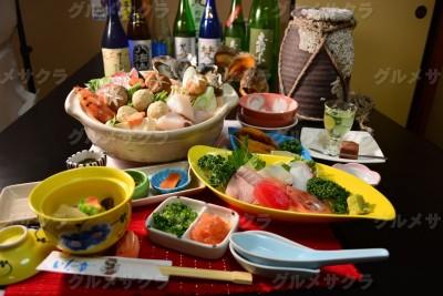 .海鮮ごっつぉ鍋