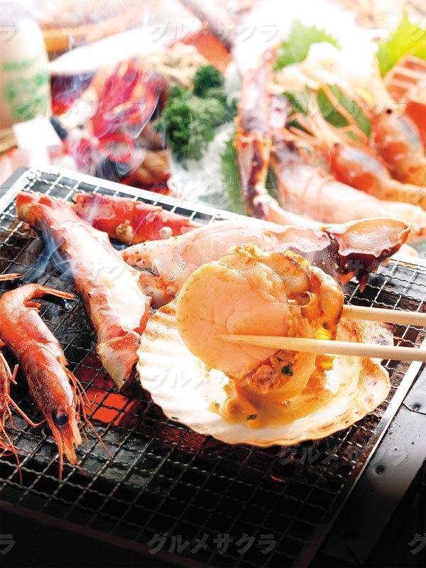 北海道の美味い鮮魚が大集合!