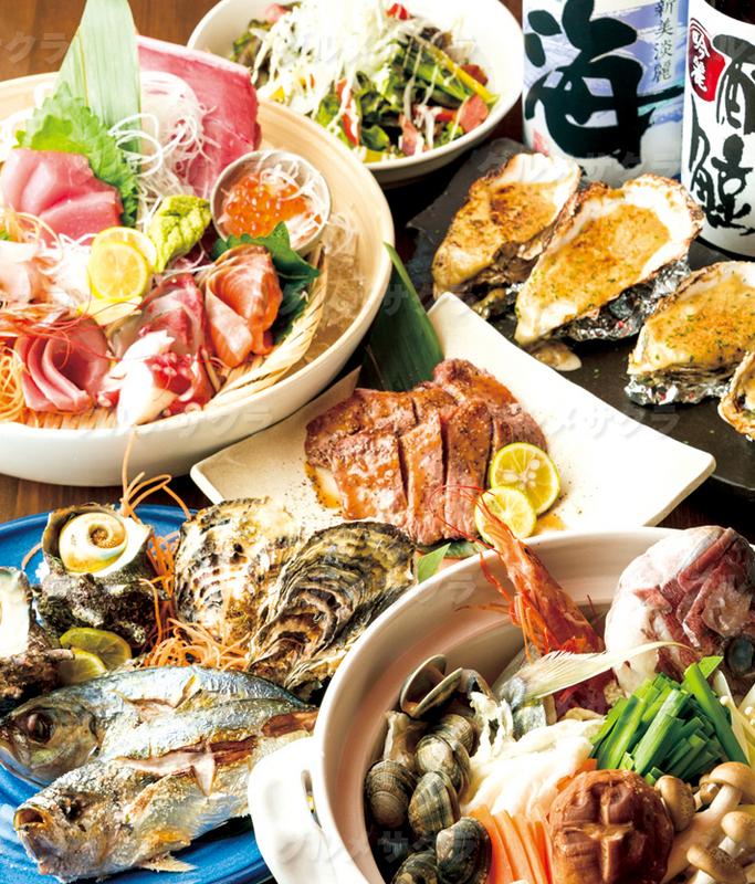 当店自慢の獲れたて鮮魚!堪能やぶ田コース。