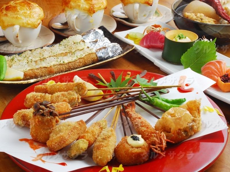 花串庵のコースは味も量も申し分無し!