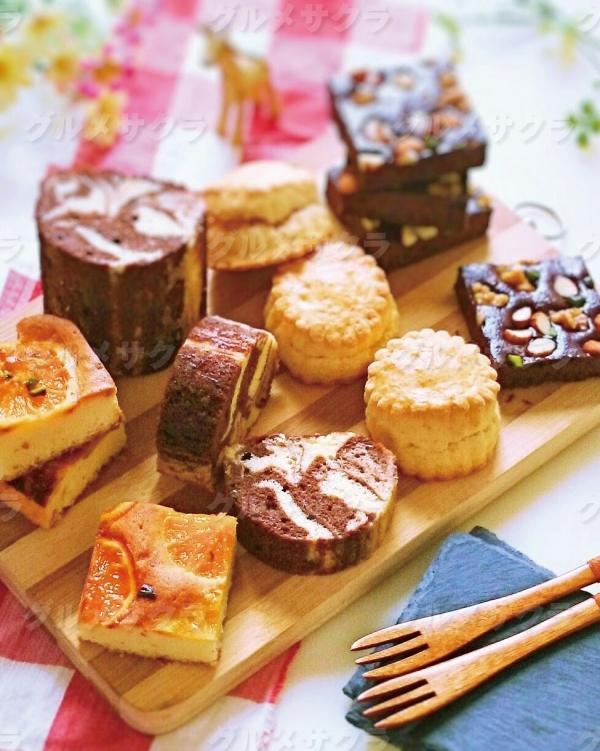 季節限定の焼き菓子も多数!