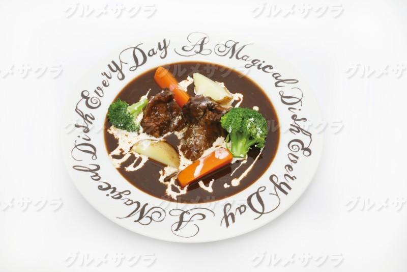 ほほ肉の自家製ビーフシチュー