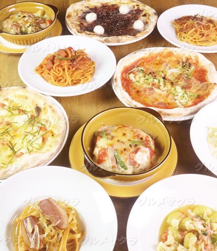 時間無制限で絶品イタリアンを楽しめる。