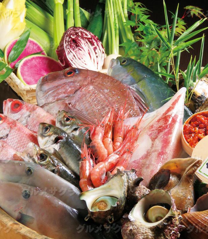 北陸の旬の鮮魚と旨い酒を囲んで宴を。