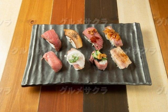 ロビコネ風絶品肉寿司をいかが?