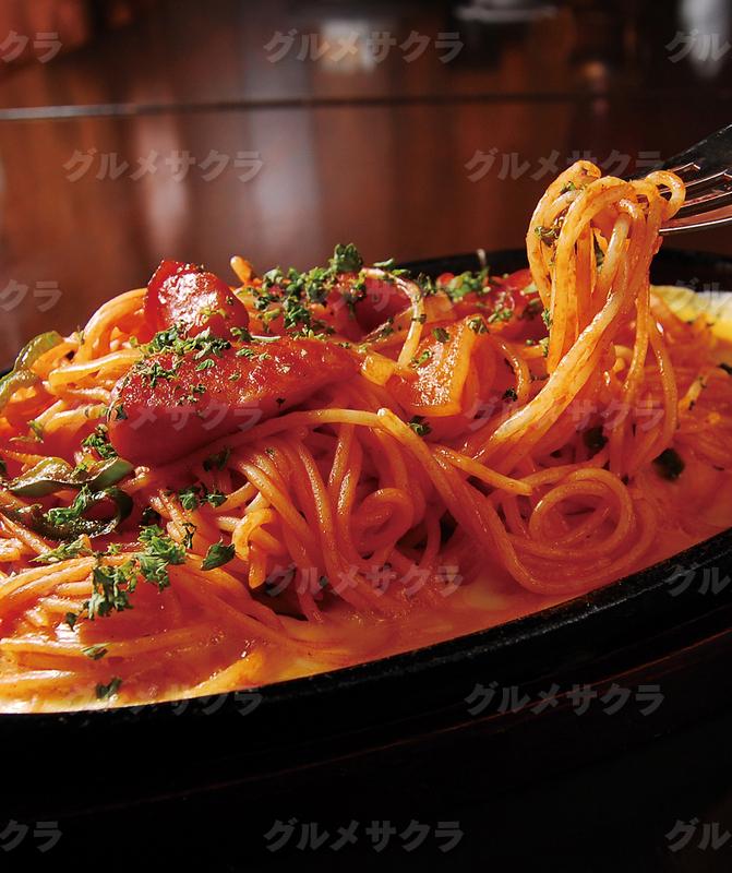 鉄板スパゲティは幅広い世代の人気No.1。
