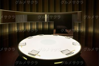 人気の円卓席